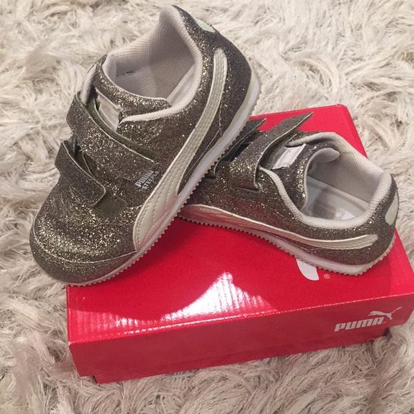 Puma Steeple Glitz Glam V Toddler Girl Shoe. M 5b709567dcf85587a888dc48 278c0b696